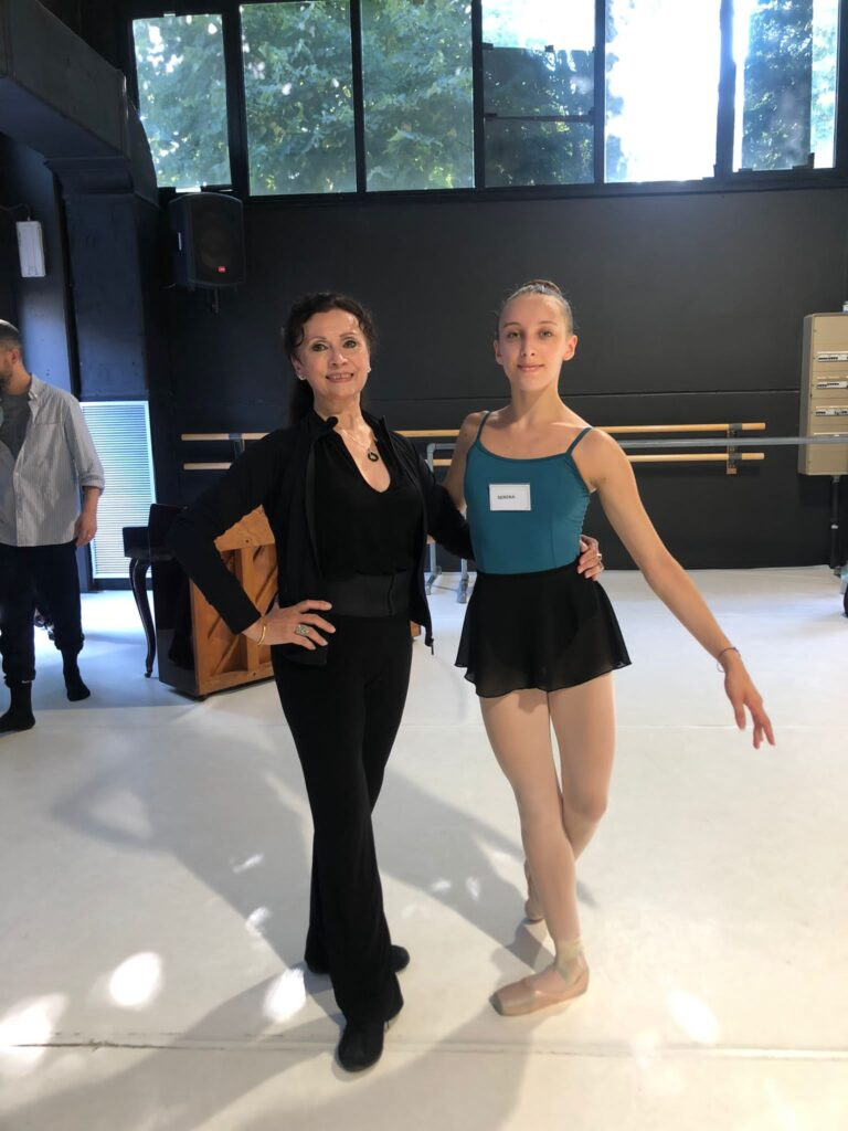 SERENA XHEPA RAD ADV 1 STUDENT OF FOR. DANCE INSTITUTE HAS COMPLETED THE YGP SUMMER INTENSIVE. CLASSICAL BALLET TEACHER FROM THE PARIS OPERA MARIE-JOSEE REDONT
